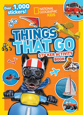 Things That Go Sticker Activity Book Cover Image