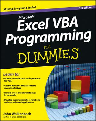 Excel VBA Programming for Dummies Cover