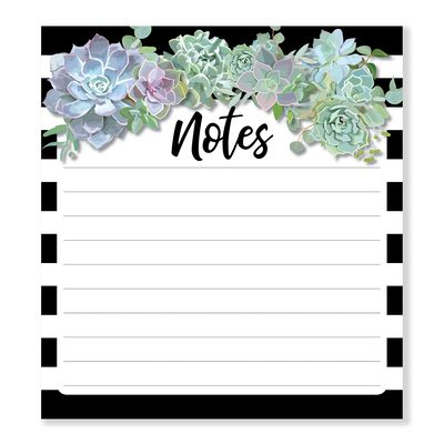 Succulents Notepad Cover Image
