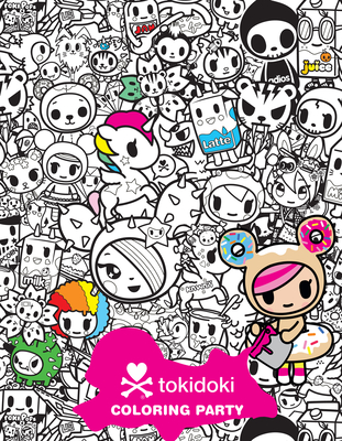 Cover for Tokidoki Coloring Party