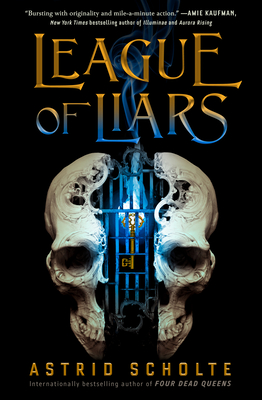 Cover for League of Liars