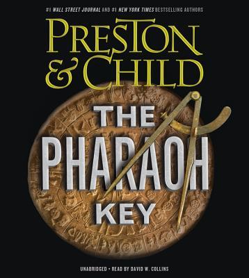 Cover for The Pharaoh Key Lib/E (Gideon Crew #5)