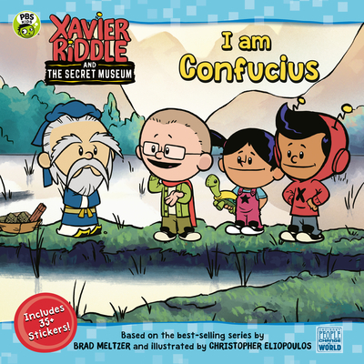 I Am Confucius (Xavier Riddle and the Secret Museum) Cover Image
