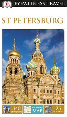 DK Eyewitness Travel Guide: St Petersburg Cover Image