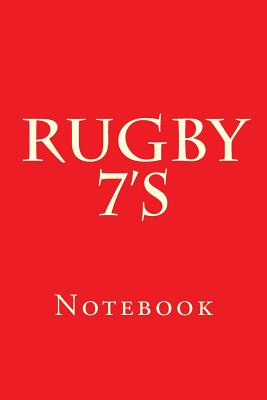 Rugby 7's: Notebook Cover Image