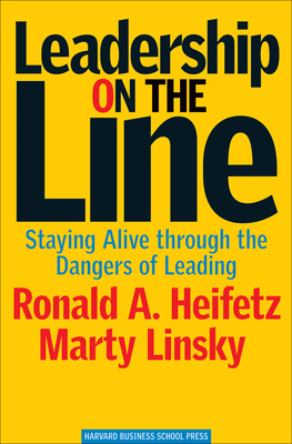 Leadership on the Line Cover