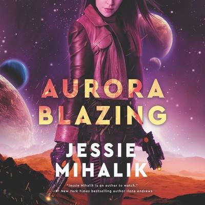 Aurora Blazing Lib/E Cover Image