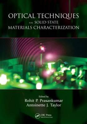 Optical Techniques for Solid-State Materials Characterization Cover Image
