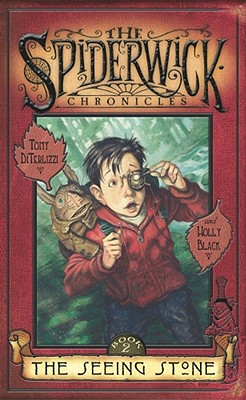 Cover for The Seeing Stone (The Spiderwick Chronicles #2)