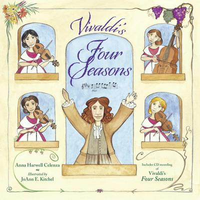 Vivaldi's Four Seasons [With CD (Audio)] Cover