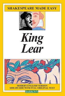 King Lear (Shakespeare Made Easy) Cover Image
