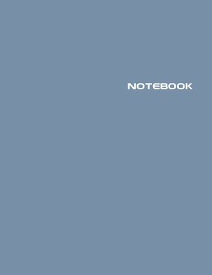 Notebook: Lined Notebook Journal - Stylish Jean Jacket - 120 Pages - Large 8.5 x 11 inches - Composition Book Paper - Minimalist Cover Image