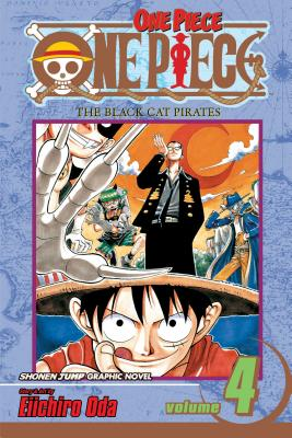 One Piece, Vol. 4 Cover