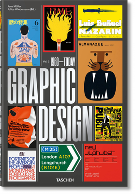 The History of Graphic Design. Vol. 2. 1960-Today Cover Image