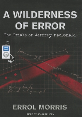 A Wilderness of Error Cover