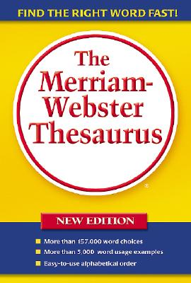 The Merriam-Webster Thesaurus Cover Image