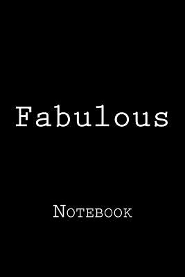 Fabulous: Notebook Cover Image
