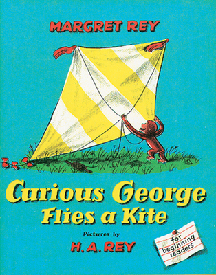 Curious George Flies a Kite Cover Image
