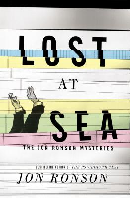 Lost at Sea: The Jon Ronson Mysteries Cover Image