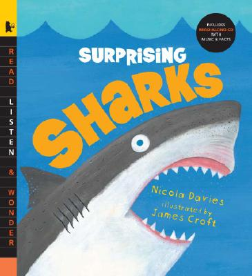 Surprising Sharks with Audio: Read, Listen, & Wonder Cover Image