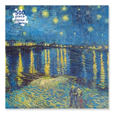 Adult Jigsaw Puzzle Van Gogh: Starry Night over the Rhone (500 pieces): 500-piece Jigsaw Puzzles Cover Image