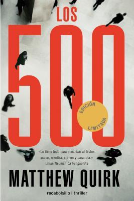 Los 500 = The 500 (Rocabolsillo Criminal) Cover Image