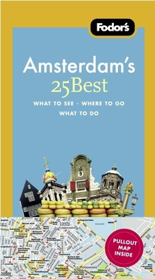 Fodor's Amsterdam's 25 Best Cover