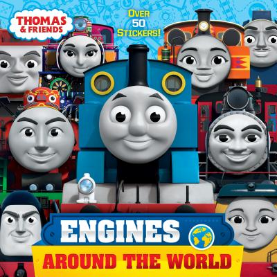 Engines Around the World (Thomas & Friends) (Pictureback(R)) Cover Image
