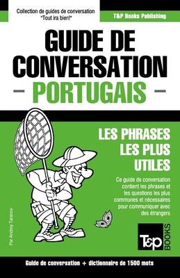 Guide de conversation Français-Portugais et dictionnaire concis de 1500 mots (French Collection #243) Cover Image