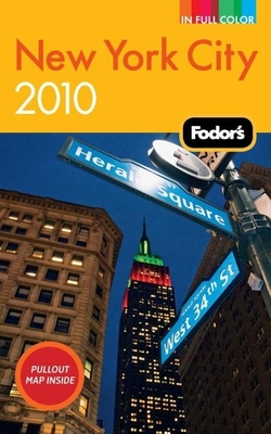 Fodor's New York City 2010 Cover