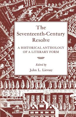 Cover for The Seventeenth-Century Resolve