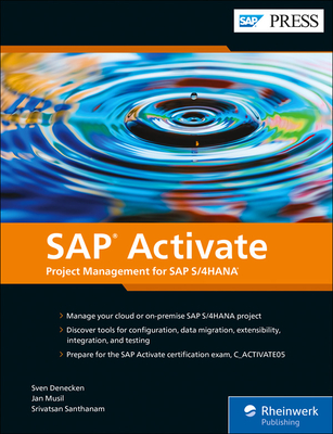 SAP Activate: Project Management for SAP S/4hana Cover Image