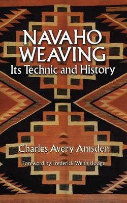 Navaho Weaving (Native American) Cover Image