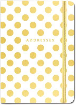 Address Bk Gold Dots Cover Image
