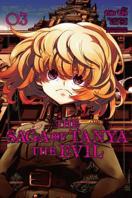 The Saga of Tanya the Evil, Vol. 3 (manga) (The Saga of Tanya the Evil (manga) #3) Cover Image