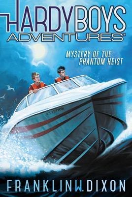 Cover for Mystery of the Phantom Heist (Hardy Boys Adventures #2)