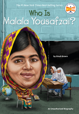 Who Is Malala Yousafzai? (Who Was?) Cover Image