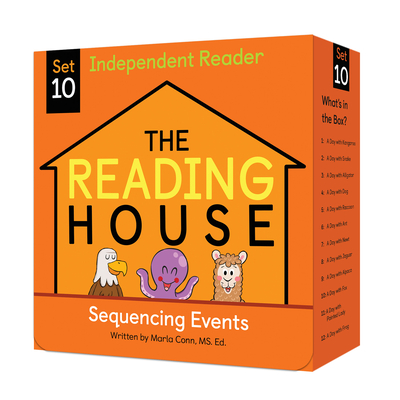 The Reading House Set 10: Sequencing Events Cover Image