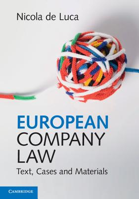 European Company Law: Text, Cases and Materials Cover Image