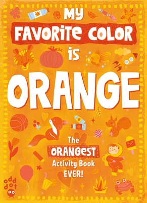 Cover for My Favorite Color Activity Book
