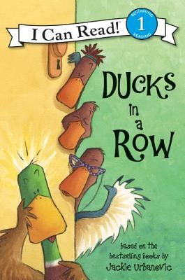 Ducks in a Row (I Can Read Level 1) Cover Image