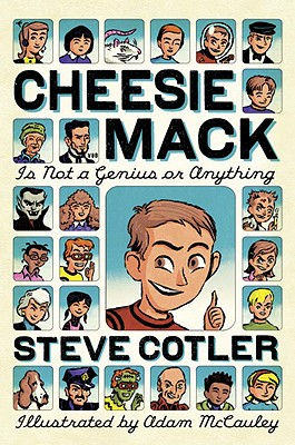 Cheesie Mack Is Not a Genius or Anything Cover