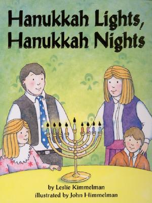 Hanukkah Lights, Hanukkah Nights Board Book Cover Image