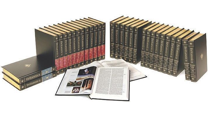 Cover for 2010 Encyclopaedia Britannica Set