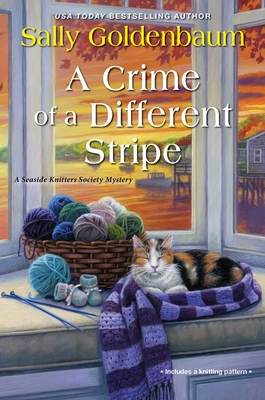 A Crime of a Different Stripe (Seaside Knitters Society #4) Cover Image