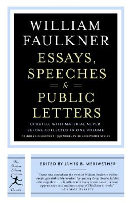 Essays, Speeches & Public Letters Cover Image