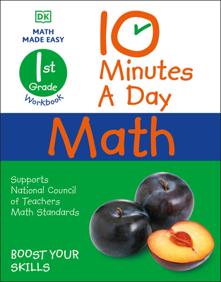 10 Minutes a Day Math, 1st Grade Cover Image