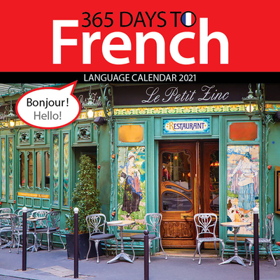 Cal 2021- 365 Days to French Wall Cover Image