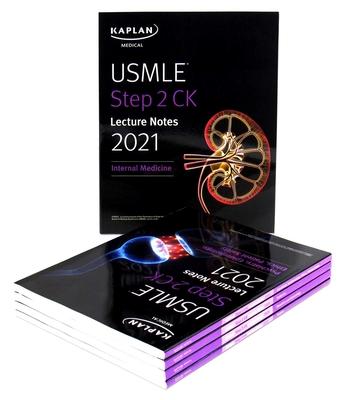 USMLE Step 2 CK Lecture Notes 2021: 5-book set (Kaplan Test Prep) Cover Image