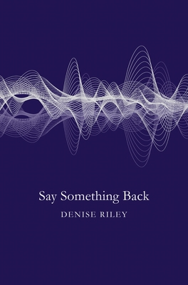 Say Something Back Cover Image